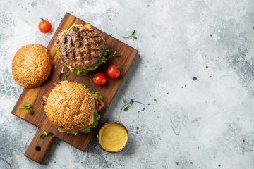 préparation burger